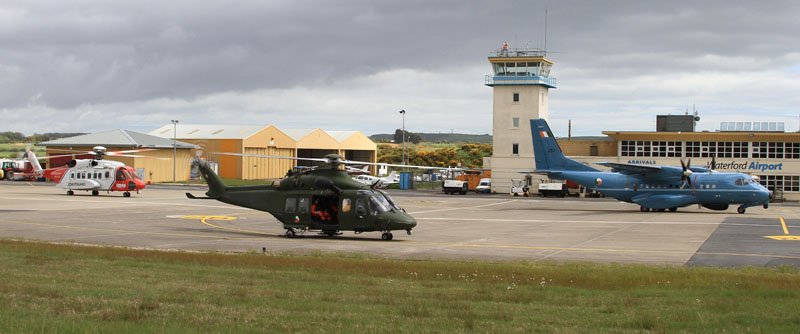 Emergency Services National Training Exercise based at Waterford Airport