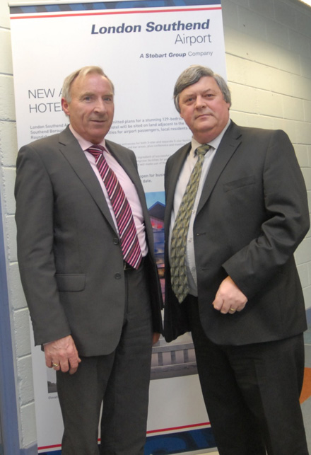 Eric Barron, SE Chamber and John Carr, Chamber Ireland – Photograph John Power.