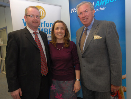 John Gantley, Gantley Business Developement, Fiona Mc Crae, Mc Crae Marketing Dynamics and Frank O' Donoghue  – Photograph John Power.