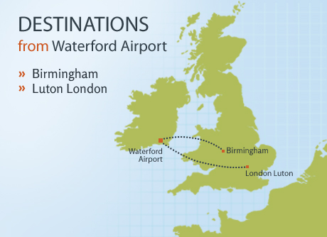 Destinations Map